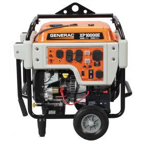 GENERAC® 5932, 10000 Watts, Portable Generator, Gasoline, Electric Start, 120/240V