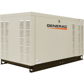 Generac QT02516ANSX 25kW Standby Generator, Liquid Cooled Engine, Steel Enclosure