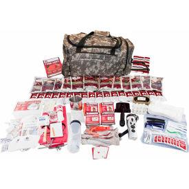 Guardian Survival Gear FSDK 2 Person Deluxe Food Storage Survival Kit, Wheel Bag, Camo