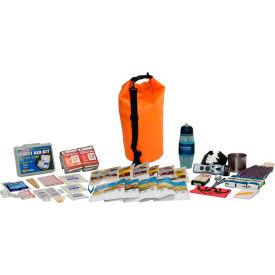 Guardian Survival Gear FSEK Food Storage Survival Kit in Waterproof Dry Bag Orange