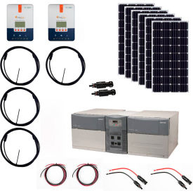 Grape Solar GS-1080-KIT-PH 1,080-Watt Off-Grid Solar Generator Kit by