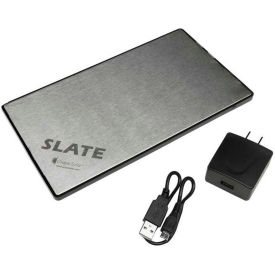 Grape Solar GS-BAT-SLATE1 Slate 11000 mAh Rechargeable Lithium Battery Pack for Portable Electronics by