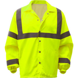 GSS Safety 7501, Class 3, Hi-Vis Windbreaker, Lime, 5XL