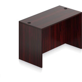 """Offices To Go™ - Desk Shell, 48""""W x 24""""D x 29-1/2""""H, Mahogany"""