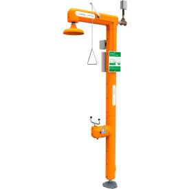 Guardian Equipment Heated Safety Station w/Eyewash & Flow Switch, Top Inlet - GFR3101