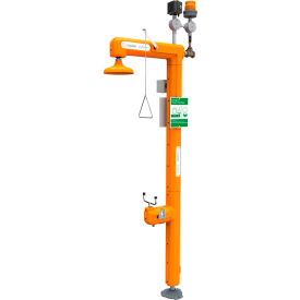 Guardian Equipment Heated Safety Station w/Eyewash, Light & Alarm Horn, Top Inlet - GFR3107