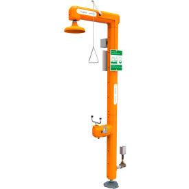Guardian Equipment Heated Safety Station w/Eyewash & Flow Switch, Bottom Inlet - GFR3111