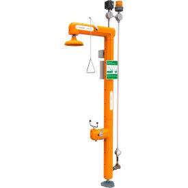 Guardian Equipment Heated Safety Station w/Eyewash, Light & Alarm Horn, Bottom Inlet - GFR3117