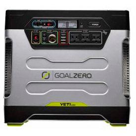 Goal Zero 31901, 1200 Watts, Solar Generator, Solar, AC, Car, 120V, with Roll Cart