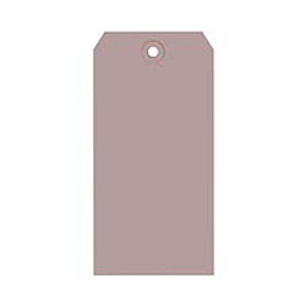 "#6 Gray Shipping Tag Pack 5-1/4"" x 2-5/8"" - 1000 Pack"