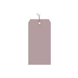 """#8 Gray Wired Tag Pack 6-1/4"""" x 3-1/8"""" - 1000 Pack"""