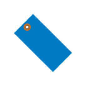 """#8 Blue Tyvek Tag 6-1/4"""" x 3-1/8"""" - 100 Pack"""