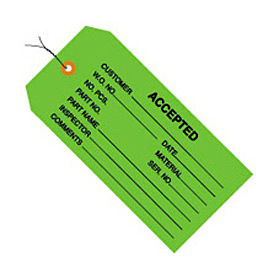 """#5 Wired Accepted Green 4-3/4"""" x 2-3/8"""" - 1000 Pack"""
