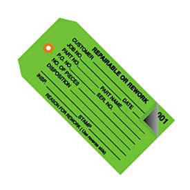 """#5 0-499 Repairable/Rework 4-3/4"""" x 2-3/8"""" - 500 Pack"""