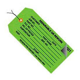 "#5 Strung 0-499 Repairable/Rework 4-3/4"" x 2-3/8"" - 500 Pack"