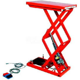 "HAMACO All-Electric Lift Table MLM-100-46WV-12 - 25.6"" x 15.7"" - 220 Lb. Cap. - SPM Motor"
