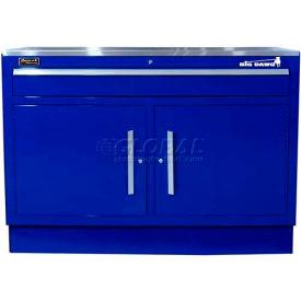 "Homak 46"" CTS 2 Door 1 Drawer Base - Blue"