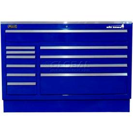 "Homak 46"" CTS 11 Drawer Base - Blue"