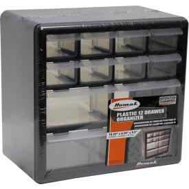 """Homak 12 Drawer Parts Organizer, 10-1/4""""W x 6-1/4""""D x 9-1/2""""H by"""