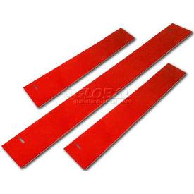 "Homak 60""W x 3""H CTS Base Shield - Red"