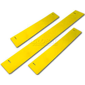 "Homak 46""W x 3""H CTS Base Shield - Yellow"