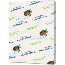 "Recycled Colored Paper - Hammermill® 103341CT - 8-1/2"" x 11"" - Canary - 5000 Sheets/Ctn"