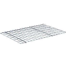 """Wire Deck for Rivetwell 60""""W x 48""""D x 1/4""""H Gray"""