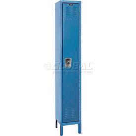 """Hallowell URB1228-1A-MB ReadyBuilt Locker, 12""""W x 12""""D x 78""""H, Blue, Single Tier, 1 Wide"""