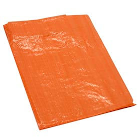 50' x 100' High Visibility Orange Tarp 3.3 OZ.