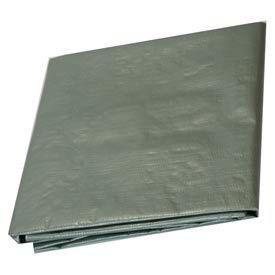 12' x 12' Medium Duty 6 oz. Tarp, Silver - S12x12