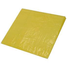 10' x 12' High Visibility Yellow Tarp 3.3 OZ.