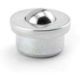 "Hudson Bearings 5/8"" Carbon Steel Machined Drop-In Ball Transfer MBT-5/8CS"