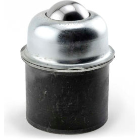 "Hudson PBT-1 1/2CS/SS 1-1/2"" Stainless Steel Ball in Steel Housing Welded to 2"" Pipe Coupling"