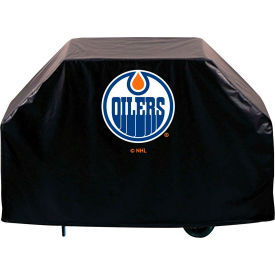 "Holland Bar Stool, Grill Cover, Edmonton Oilers, 60""L x 21""W x..."