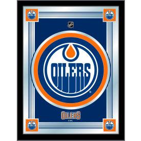 "Edmonton Oilers Logo Mirror 17""W x 22""H"