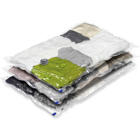 "Large Garment Storage Vacuum Packs, 33-1/2"" L x 21-1/4"" W, 3 Pack by"