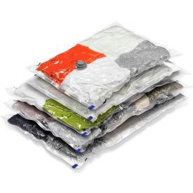 Closet Garment Vacuum Pack Combo, Sizes: 2 Medium; 3 Large, 5 Pack by
