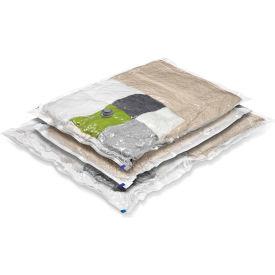 Super Storage Combo Garment Vacuum Packs, Sizes: 2 Extra-Large; 1 Jumbo, 3 Pack by