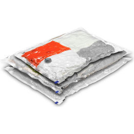 Storage Combo Garment Vacuum Packs, Sizes: 2 Large; 1 Medium, 3 Pack by