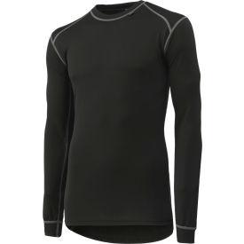 Helly Hansen Kastrup Crewneck Shirt, Black, 2XL, 75016-990
