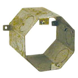 """Hubbell 278 Concrete Ring, 3"""" Deep, 1/2"""" & 3/4"""" Single Row Knockouts - Pkg Qty 20"""