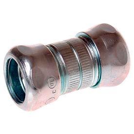 "Hubbell 2926 Emt Compression Coupling 1-1/2"" Trade Size - Steel - Pkg Qty 20"
