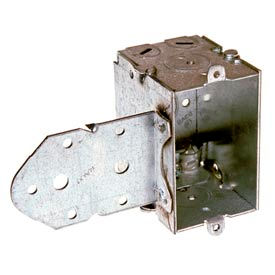 "Hubbell 529 Switch Box 3""X2"", 2-1/2"" Deep, Gangable, Nmsc Clamps, Stud Bracket - Pkg Qty 20"