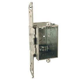 "Hubbell 564 Switch Box 3""X2"", 2-3/4"" Deep, Gangable, Nmsc Clamps, Stud Bracket - Pkg Qty 50"