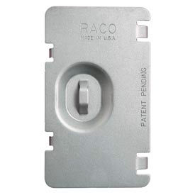 Hubbell 701f Protection Plate, Flat, To Protect 1 Device Opening On Mudring - Pkg Qty 100