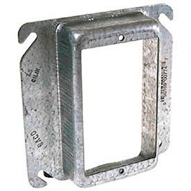 """Hubbell 774 4"""" Square Mud-Ring 4"""", For 1 Device, Raised 1"""" - Pkg Qty 25"""