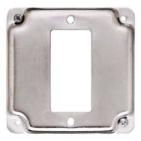 """Hubbell 808c 4"""" Square Exposed Work Cover, 1 Gfci - Pkg Qty 10"""