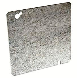 "Hubbell 832 4-11/16"" Square Box Cover, Flat Blank - Pkg Qty 50"