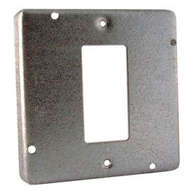 """Hubbell 856 4-11/16"""" Square Exposed Work Cover, 1 Gfci - Pkg Qty 10"""