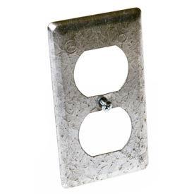 Hubbell 864 Handy Box Cover, Duplex Receptacle - Pkg Qty 25